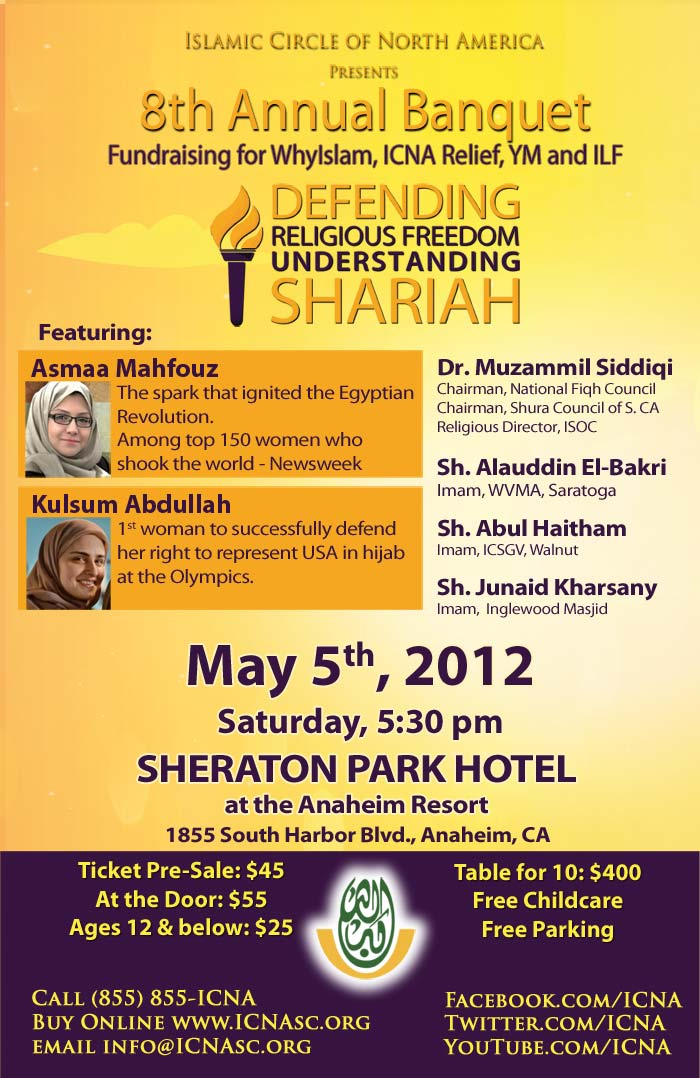ICNA Presents Defending Religious Freedom, Understanding Shariah